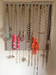 How to hang necklaces unac co breathtaking 67 on house decorating ideas  with necklaces