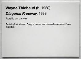Labelling Art Examples Of Artwork Labels The Practical Art World