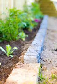 rock garden edging ideas how to line