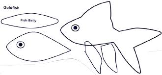 Simple Fish Outline Simple Fish Cutout Www Topsimages Com