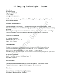 X Ray Tech Resume Resume X Ray Tech Resume 18