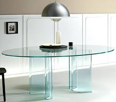 modern glass dining table oval glass dining table caesar modern glass dining table set with 6 seater
