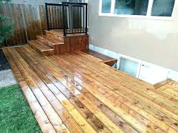 how to build a ground level deck with deck blocks how to build a floating deck
