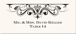 Place Card Design Wedding Place Cards Vintage Place Card Designs Vintage