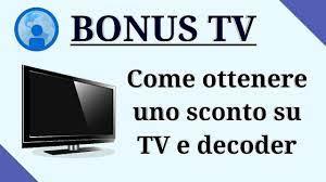 Bonus tv 2021: scopri come ottenerlo! - YouTube