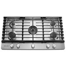 Wonderful Kitchenaid 5 Burner Gas Grill Cooktop Stainless Steel Common To Decor