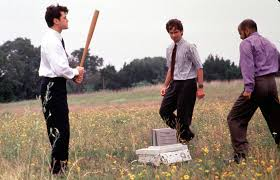 office space pic. ron livingston david herman and ajay naidu take their revenge on nemesis the office space pic i