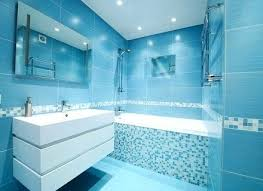 blue bathroom tile texture. Blue Bathroom Floor Tiles Texture Exquisite Tile Mosaic Contemporary With White Double Vanity Modern S