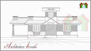 TWO BEDROOM HOUSE PLAN FOR SMALL FAMILIES  amp  SMALL PLOTS    FLOOR PLAN