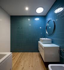 bathroom ideas oval glass ceiling lamp aqua blue bathroom wall laminate rustic hardwood bathroom flooring rectangle white contemporary wooden bathroom