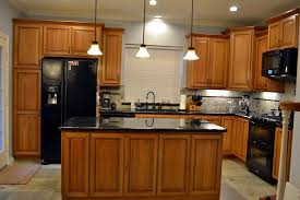 Cherry kitchen cabinets Craftsman Style Natural Cherry Cabinets Natural Cherry Cabinets Kemah Cabinets Natural Cherry Custom Kitchen Cabinets