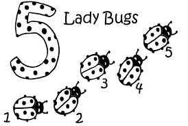 Small Picture Ladybug Coloring Pages For Kids Coloring Home