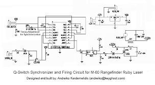 sam s laser faq complete ss laser power supply schematics synchronizer and firing circuit for m 60 rangefinder ruby laser