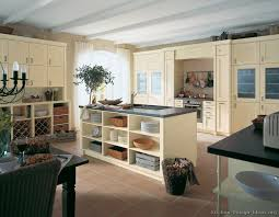 painted kitchen cabinets ideas. Image Of: Awesome Distressed Cream Kitchen Cabinets Painted Ideas G