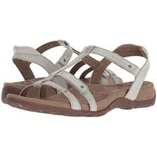 Women Taos Footwear Trophy Sandals Soft Synthetic Lining For