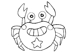 Small Picture Smiling Crab Coloring Pages Animal Coloring pages of