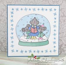 Milly Moo Designs Card Making Kits Home Kitchen Milly Moo Cow Christmas Door