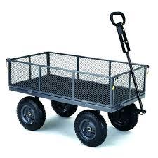 gorilla carts garden dump cart yard cart utility garden wagon gorilla carts lb capacity utility cart