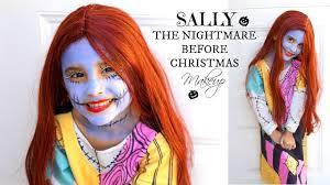 sally nightmare before christmas makeup kids