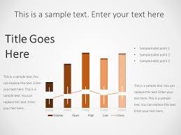 Business Bar Chart Powerpoint Template Powerpoint Graphs