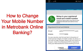Maybe you would like to learn more about one of these? How To Change Or Update Your Mobile Phone Number In Metrobank Online Banking Banking 30901