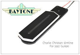 charlie christian tab mounted jazz pickup slimline