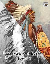 Amazoncom Adult Coloring Book 24 Pages 8x11a4 Native American