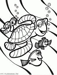 Finding Nemo Turtle Drawing At Getdrawings Com Free For Personal Sea