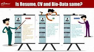 Biodata Vs Resume Resume Online Builder