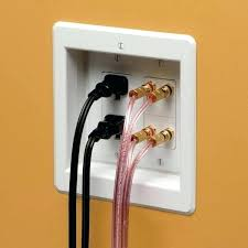 hide speaker wire on wall speaker wire cover speaker wire through drywall no wall plate forum hide speaker wire on wall wire hiding ideas how