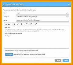 Cv Sent Mail Format Emailing Resume Sample How To Send A Sending Co