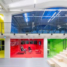 office colour design. Mvrdv-office-architecture-interior-self-designed-studio-rotterdam- Office Colour Design