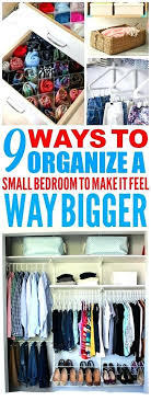 How To Clean And Organize Your Bedroom 9 Super Efficient Ways To Organize  Your Small Bedroom