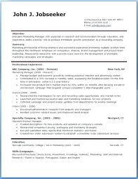 Download Resume Formats In Word – Businessdegreeonline.co