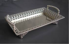 Decorative Metal Serving Trays