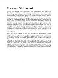 Psychology Personal Statement Example Example Psychology Personal Statement Search Results Docshare Tips