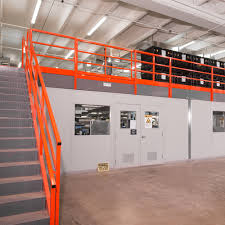warehouse mezzanine modular office. Modular Installation Warehouse Mezzanine Office