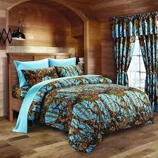 7 pc regal comfort white camo comforter