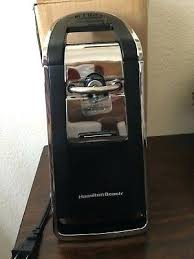 hamilton beach 76606za smooth touch can opener can openers and crushers beach electric can opener smooth