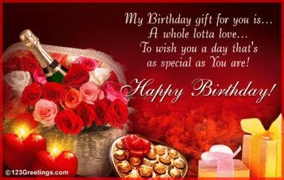 birthday shayari for lover in english