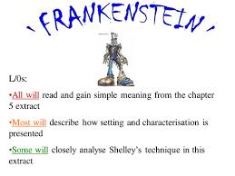frankenstein essay plan on characters by missrathor teaching frankenstein analysis of chapter 5