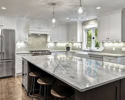 grey countertops white cabinets image and shower mandra