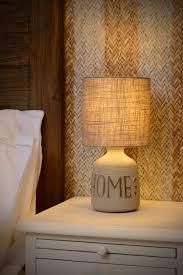 Tafellamp Staande Lamp Poot Zwart Bankok Met Kap Linnen Wit Kopen