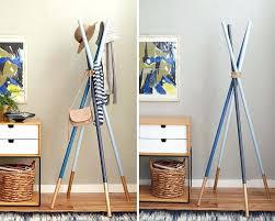 clothes rack idea gallery of fabulous coat rack ideas racks chalkboard paint and conventional homemade 9 clothes rack idea