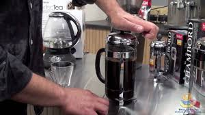 Bodum's chambord® is the original french coffee press, first designed in the 1930s and inspired by the domed towers of chambord castle. Bodum Chambord Coffee Press Youtube
