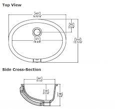 standard size sink