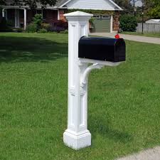cool mailboxes for sale. Charleston White Mail Post Cool Mailboxes For Sale W