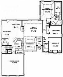 house plan bedroom bath one story house plans bedroom house plans