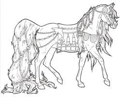 Small Picture Animal Coloring Pages On Horse Coloring Pages Barbie 15213