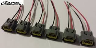 cheap ignition coil wiring harness ignition coil wiring get quotations · nissan skyline ignition coil connector plugs harness wiring sr20 rb20 rb25 rb26 coil pack wiring